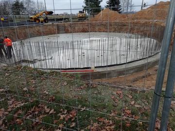 Betonowanie fundamentu
