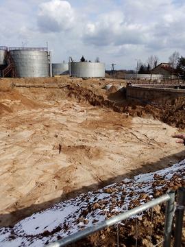 Galeria Wykopy pod budowę nowych bioreaktorów i budynku technicznego