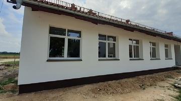 Galeria Postęp prac Budynek socjalny- laboratorium